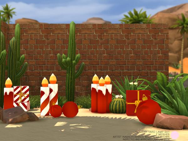 Holiday Yard Light Set by DOT at TSR image 1729 Sims 4 Updates
