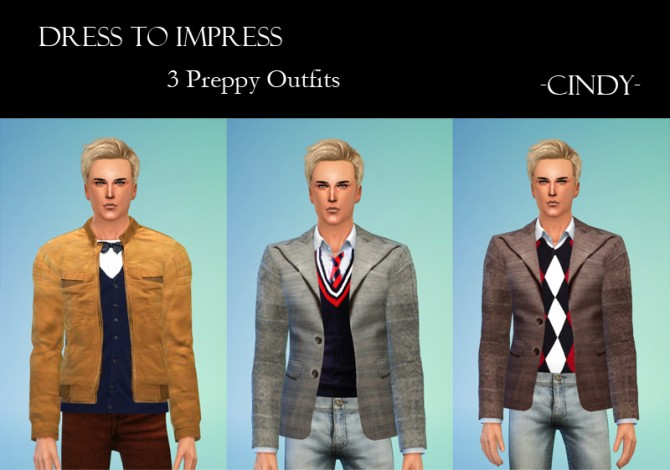 Dress to Impress 2 outfits + 3 tops at CCTS4 image 1730 Sims 4 Updates