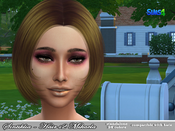 Mikaela Hair s02 by Sintiklia at TSR image 175 Sims 4 Updates