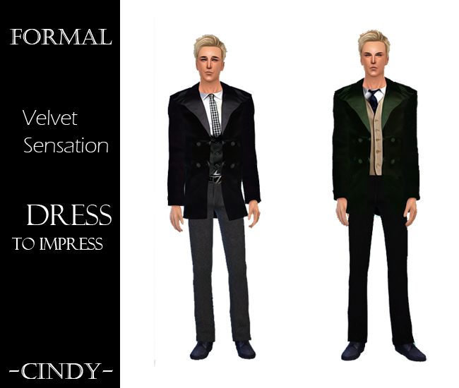 Sims 4 Dress to Impress 2 outfits + 3 tops at CCTS4