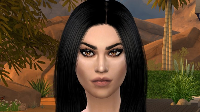 Sims 4 Monica by Elena at Sims World by Denver