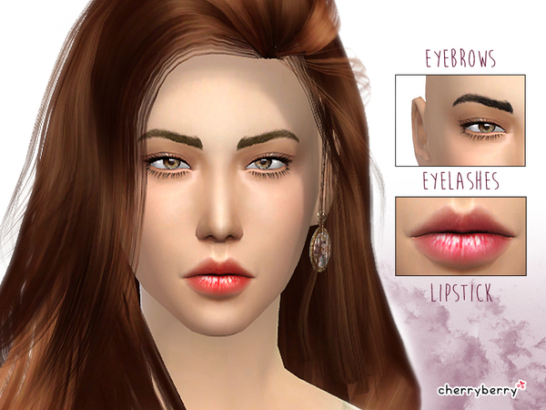 Simple Beauty set 01 by CherryBerrySim at TSR image 187 Sims 4 Updates