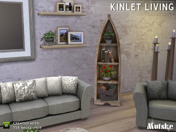 Sims 4 Kinlet livingroom by mutske at TSR