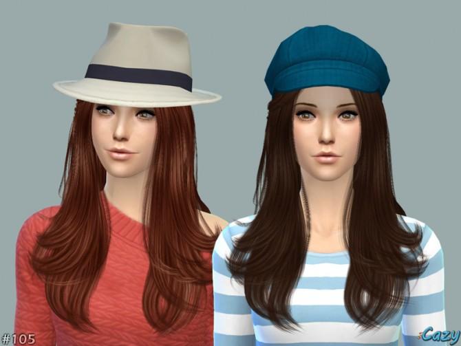 Sims 4 Starlight Hair by Cazy at TSR