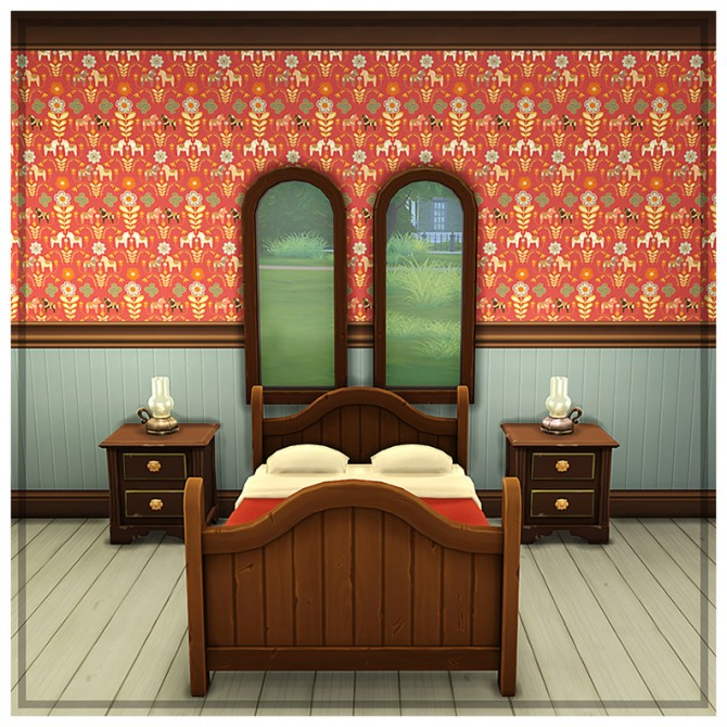 Colored panelling at Saudade Sims image 1931 Sims 4 Updates