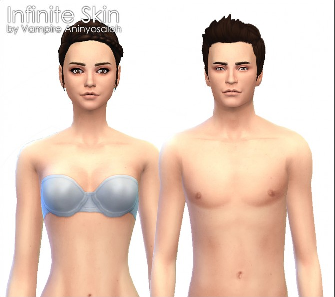 Infinite Skin by Vampire aninyosaloh at Mod The Sims image 20111 Sims 4 Updates