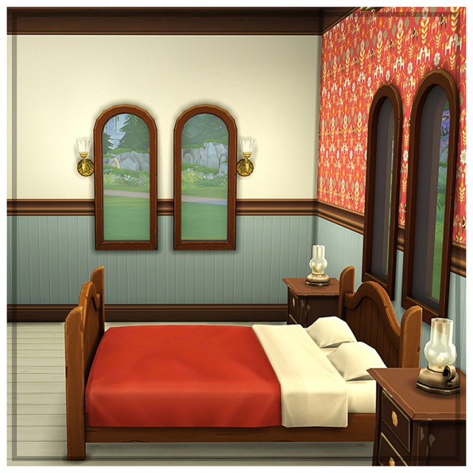 Colored panelling at Saudade Sims image 2031 Sims 4 Updates