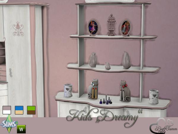 Sims 4 Dreamy Kidsroom by BuffSumm at TSR
