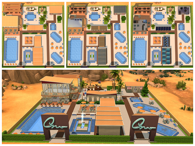 Water Park By Sim4fun At Sims Fans 187 Sims 4 Updates