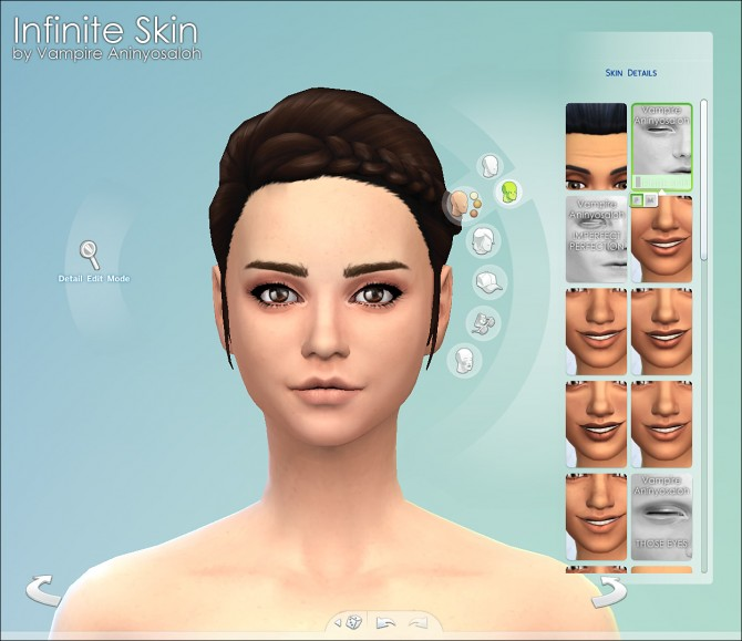 Infinite Skin by Vampire aninyosaloh at Mod The Sims image 2115 Sims 4 Updates
