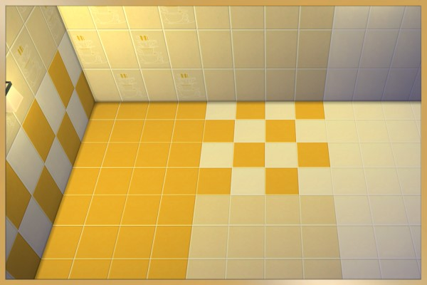 TeaTime kitchen tiles by Schnattchen at Blacky's Sims Zoo image 226 Sims 4 Updates