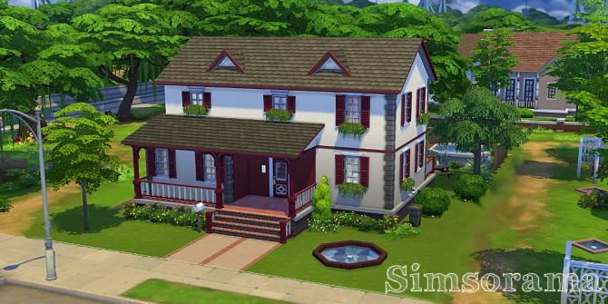 Sims 4 Rosaly house at Simsorama