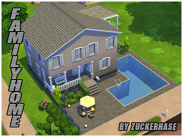 Sims 4 Family home by zuckerhase at Akisima