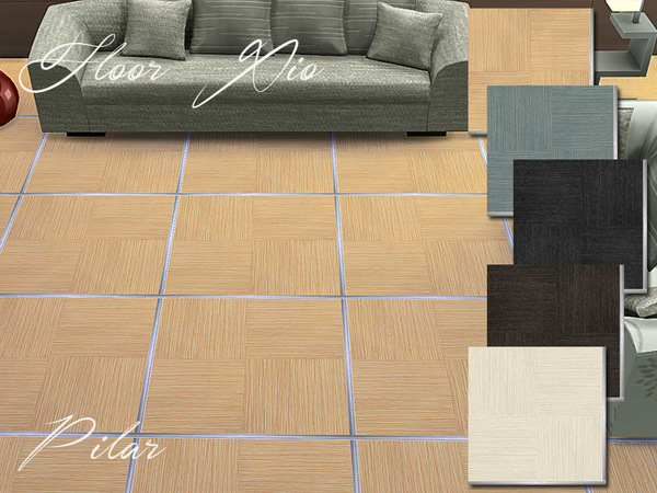 Sims 4 Xio Colores Floors by Pilar at TSR