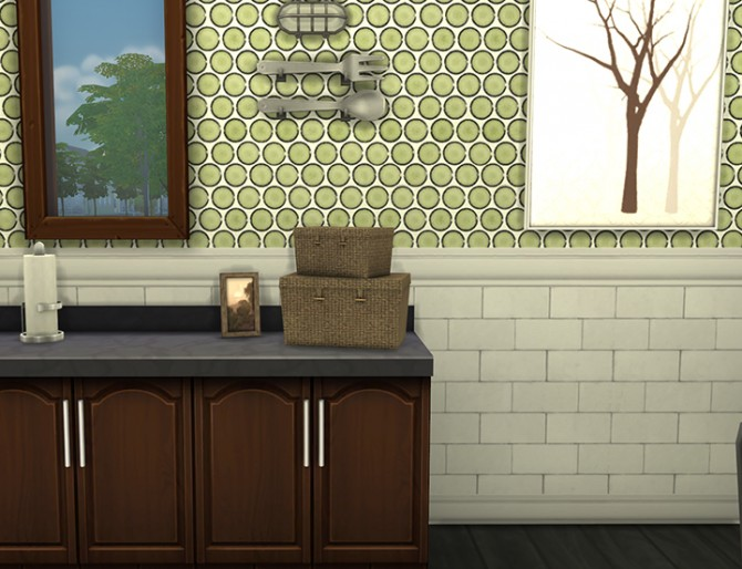Penny tile walls at Saudade Sims image 2331 Sims 4 Updates