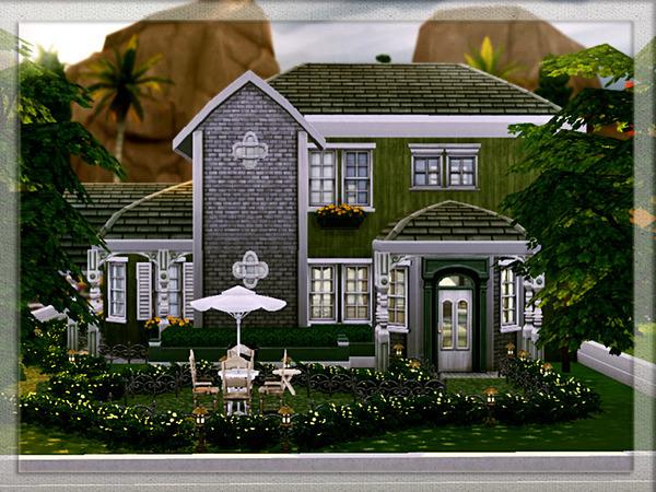 Sims 4 V   02 house by Vidia at TSR