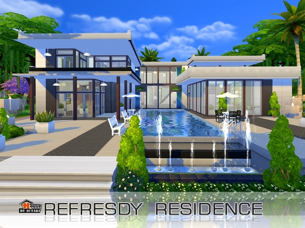 Refesdy residence by Autaki at TSR image 2424 Sims 4 Updates