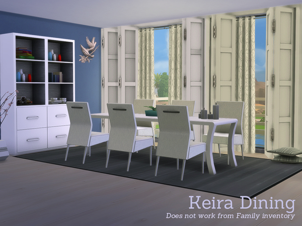 Keira Dining by Angela at TSR image 2561 Sims 4 Updates