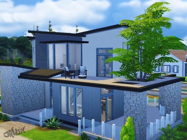 Sims 4 Nelson Court house by Jaws3 at TSR