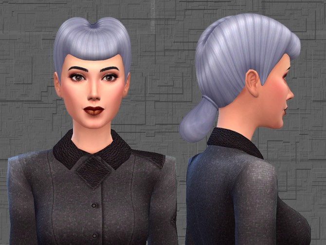 Sims 4 Rachael Hair 18 EA like Colors by Notegain at Mod The Sims