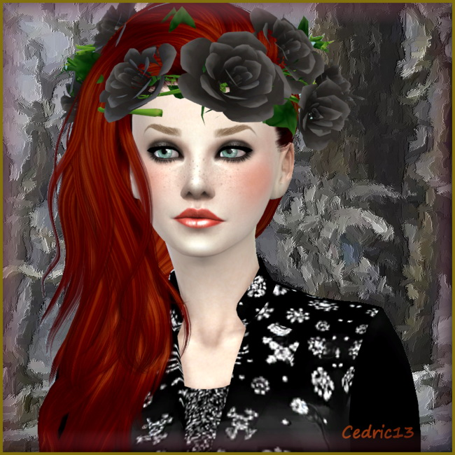 Sims 4 Clarisse by Cedric13 at L'Univers de Nicole