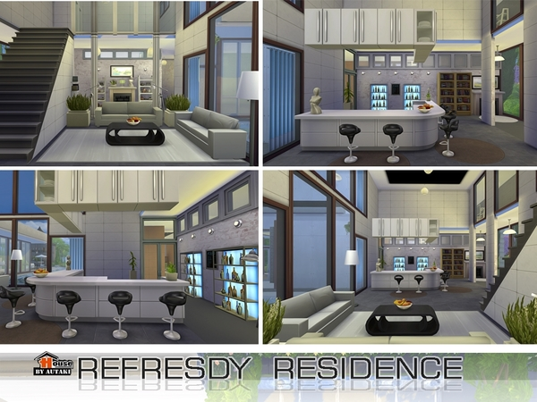 Refesdy residence by Autaki at TSR image 2625 Sims 4 Updates