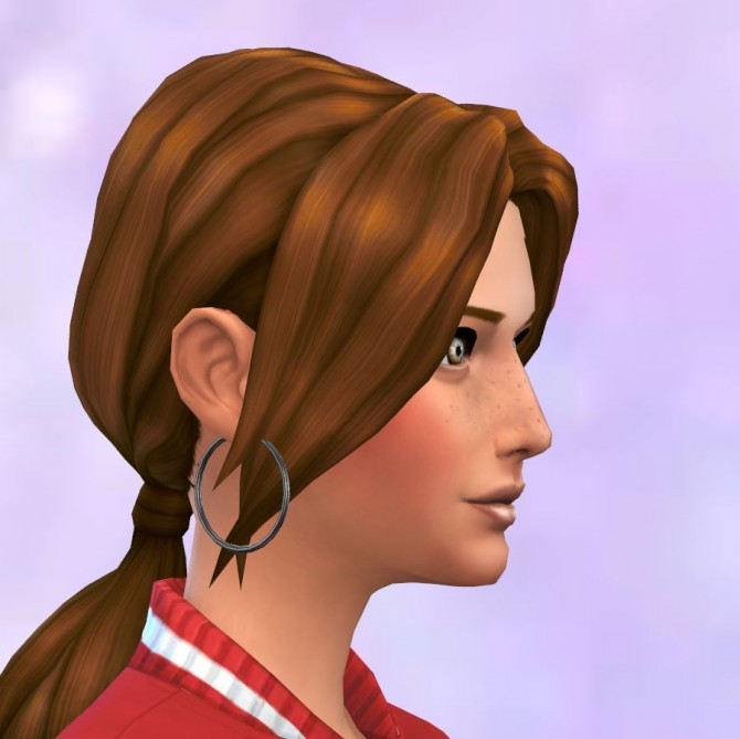 Pony Tail Low parted redone by malicieuse75 at Mod The Sims image 2627 Sims 4 Updates
