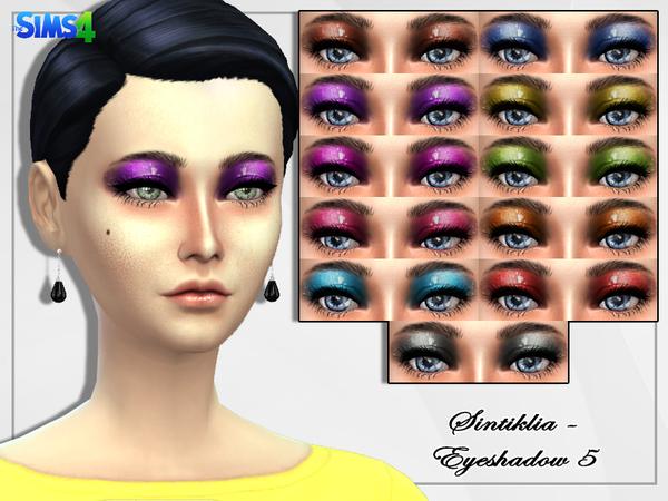 Sims 4 Eyeshadow 5 by Sintiklia at TSR