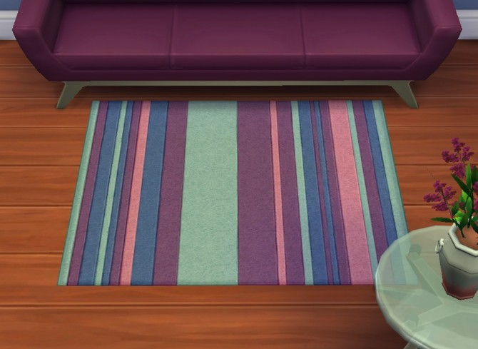 Sims 4 Default override rug by plasticbox at Mod The Sims