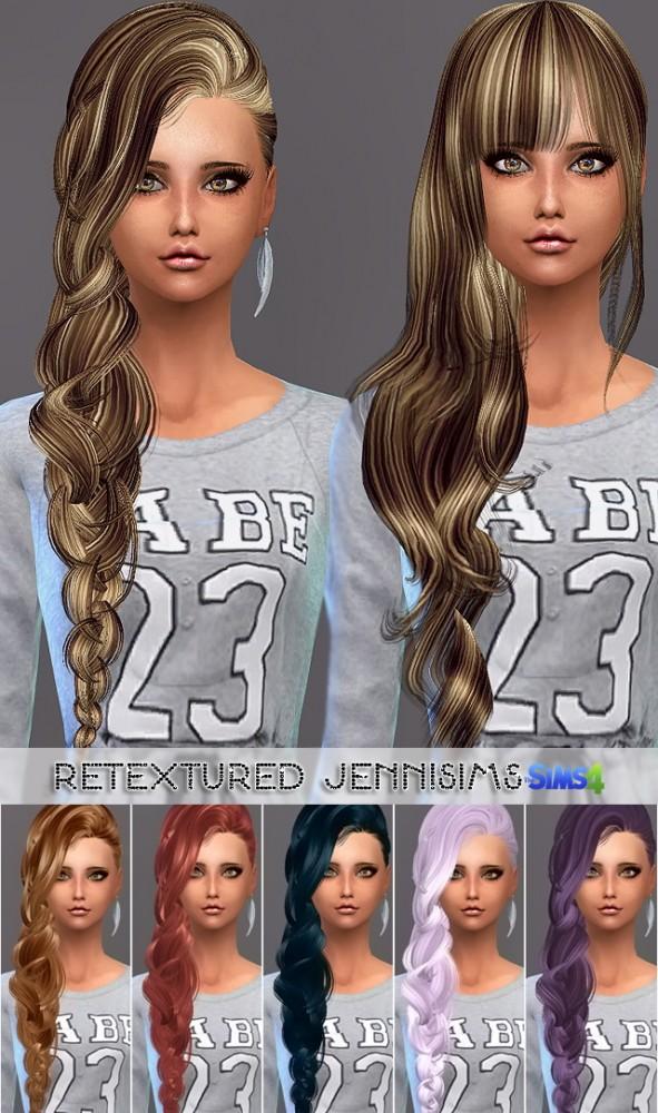 Sims 4 Elasims Converted Hairs Retexture at Jenni Sims