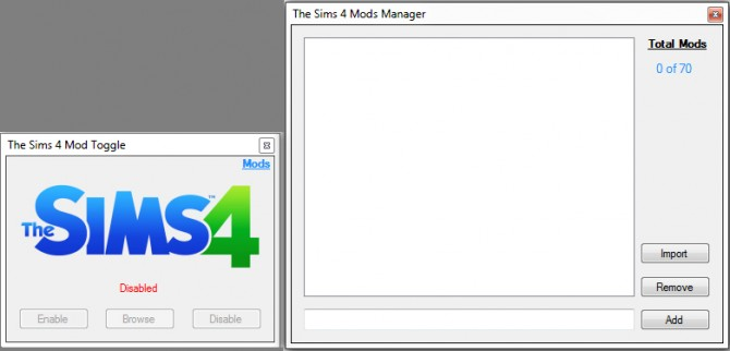 Sims 4 The Sims 4 Mod Toggle by RazorX2014 at Mod The Sims