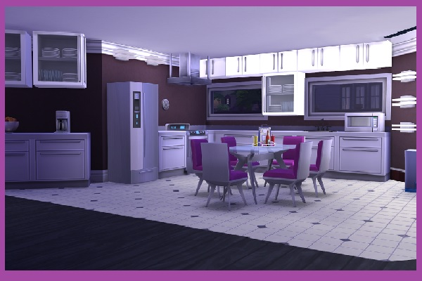 Fantastic Rounding house by Kosmopolit at Blacky's Sims Zoo image 2831 Sims 4 Updates