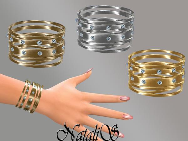 Sims 4 Multi bracelets set by NataliS at TSR