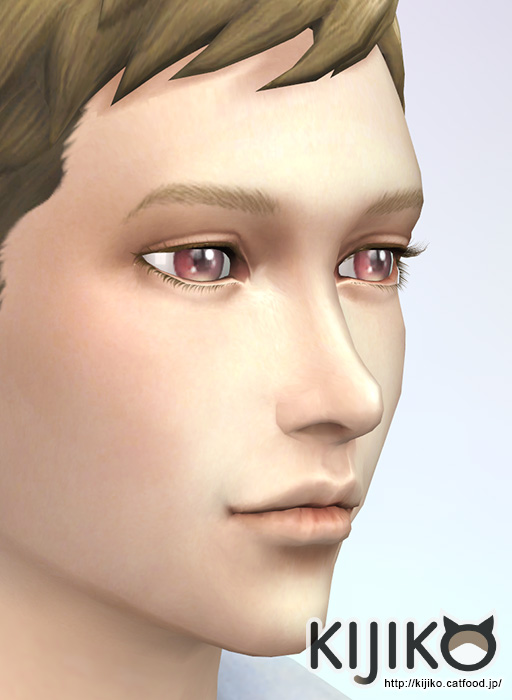 Sims 4 3D lashes curly edition at Kijiko