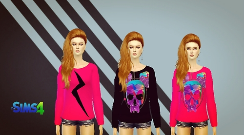 Sims 4 Sweater recolor at Sims 4 Ego