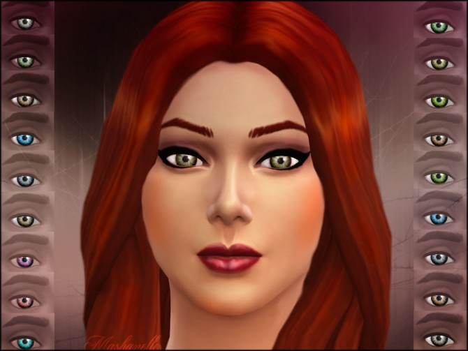 Realistic and bright eyes by malicieuse75 at Mod The Sims image 2925 Sims 4 Updates