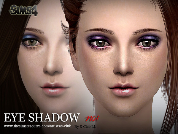 Eyeshadow 01 by S Club LL at TSR image 2929 Sims 4 Updates