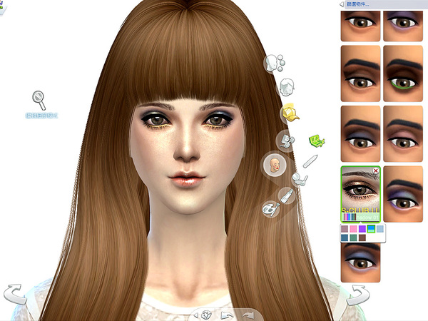 Eyeshadow 01 by S Club LL at TSR image 3025 Sims 4 Updates