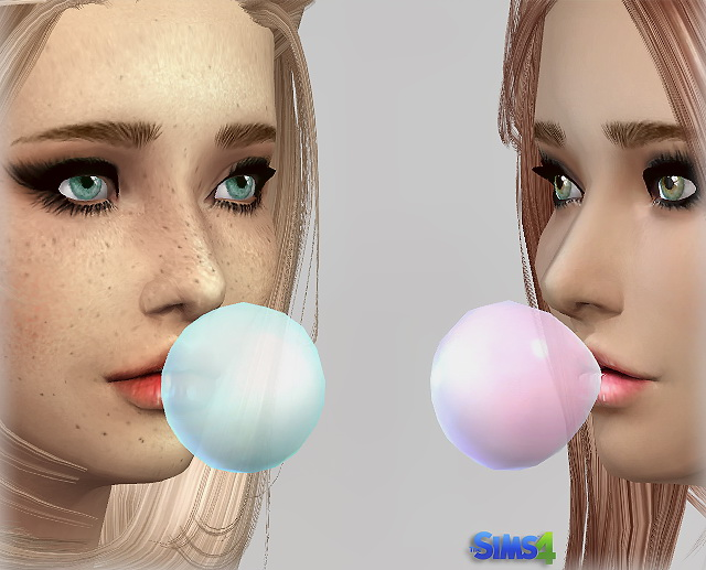 Transparent BubbleGum at Jenni Sims image 3121 Sims 4 Updates