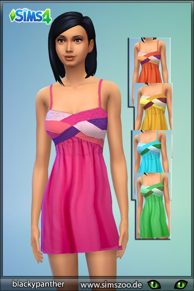 Summerfresh dress by Blackypanther at Blacky's Sims Zoo image 3151 Sims 4 Updates