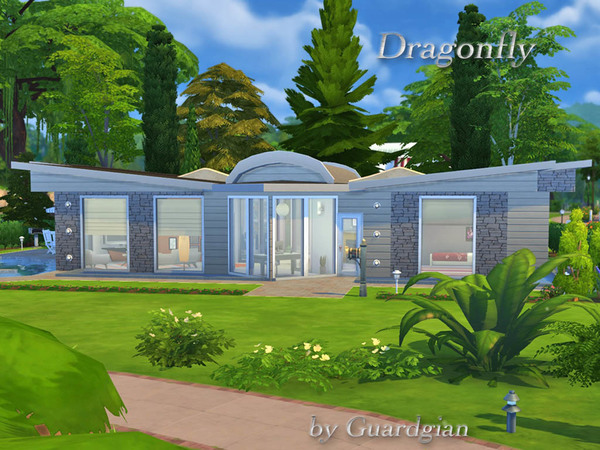 Dragonfly house by Guardgian at TSR image 3161 Sims 4 Updates