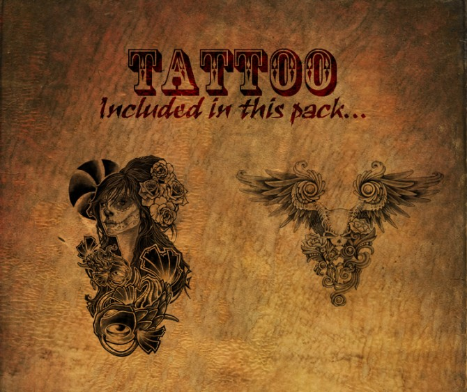 KF Tat Pack #5 Petite Mort by KisaFayd at Mod The Sims image 3212 Sims 4 Updates