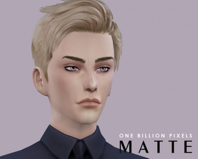 Matte Lipstick For Males at One Billion Pixels image 323 Sims 4 Updates