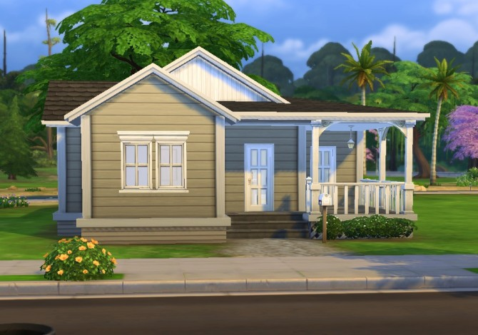 Sims 4 Langerak house by plasticbox at Mod The Sims