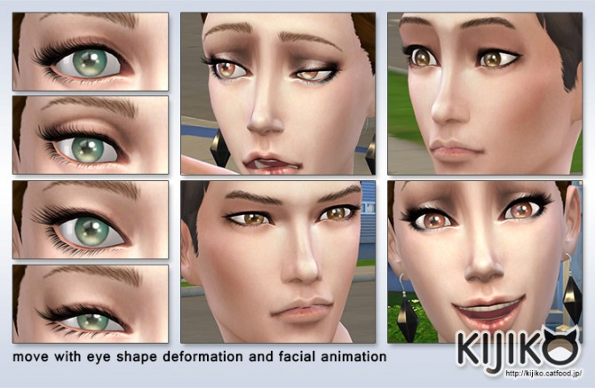 3D lashes curly edition at Kijiko image 3515 Sims 4 Updates