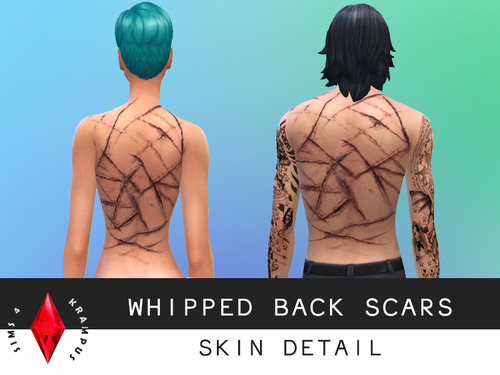 Clothes, scars and Avatar skintone at Sims 4 Krampus image 3521 Sims 4 Updates