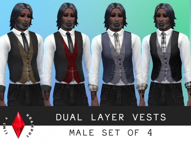 Clothes, scars and Avatar skintone at Sims 4 Krampus image 3621 Sims 4 Updates
