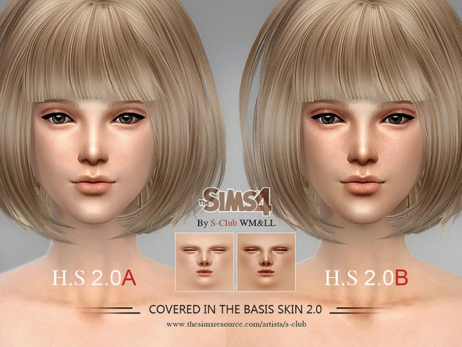 H.S ND skintone 2.0 by S Club WMLL at TSR image 3625 Sims 4 Updates