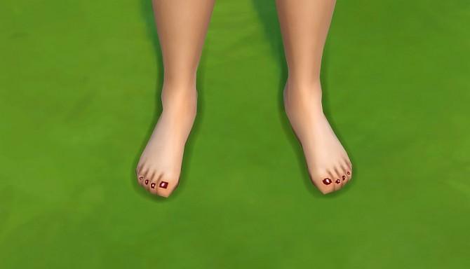 polish nails toes by malicieuse75 at mod the sims sims