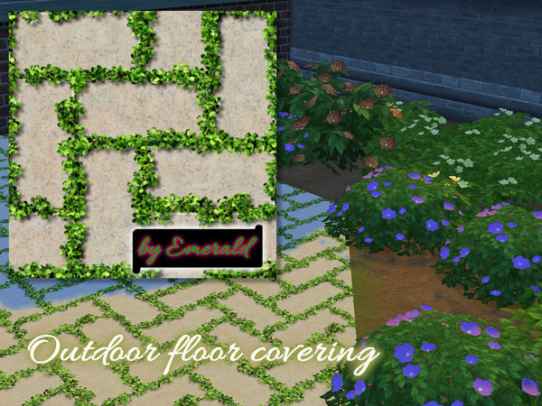 Outdoor Floor Covering By Emerald At TSR Sims 4 Updates